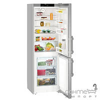 Холодильники и морозильные камеры Liebherr Двухкамерный холодильник с нижней морозилкой Liebherr Cef 3525 Comfort (А++) серебристый