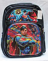 Школьный рюкзак ортопедический СуперМен для мальчиков. Портфель ранец для школы 3, 4, 5 класс