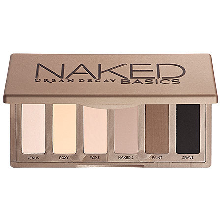 Палетка матовых теней Urban Decay Naked Basics