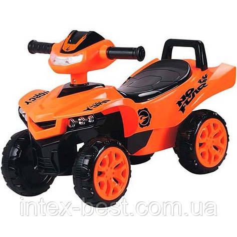 Каталка-толокар Bambi M 3502-7 Оранжевая, фото 2