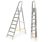 Лестница алюминий 8 ступений ALVE 366 см