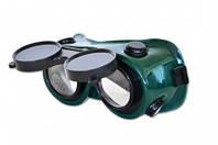 Очки сварщика с прямым стеклом