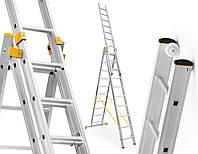 Лестница алюминий 3х10 ALVE 695 см
