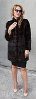 Шуба норковая (поперечка) Модель 200506 40