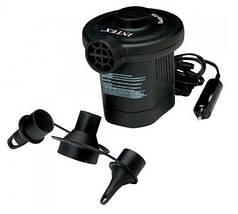 Дорожный электрический насос Intex 66626, работает от 12V