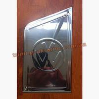 Накладка на люк бензобака с лого Carmos на Volkswagen T5 2003-2010