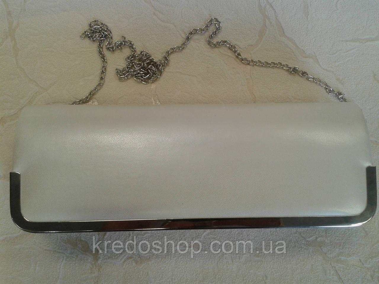 0a2734735ea2 Клатч женский вечерний белый (Турция). - Интернет-магазин сумок и  аксессуаров