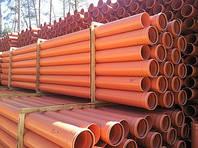 ПВХ труби безнапірні для водовідведення та каналізації