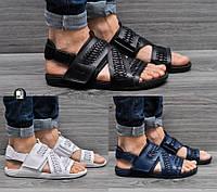 Мужские сандалии Nike Air Solarsoft Zigzag Woven 3 цветов