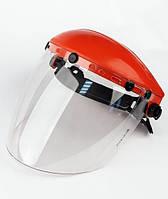 Щиток НБТ Vision (товщина 3,0 мм) з наголовником від маски Хамелеон, фото 1