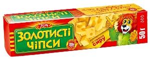 """чипсы """"Золотистые"""" """"Жайвир"""" 50 г. сыр, фото 2"""