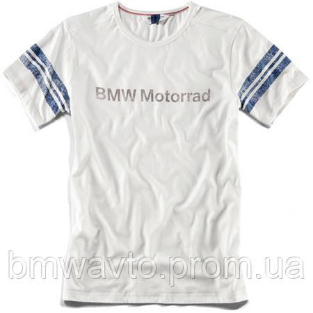 Мужская футболка BMW Motorrad T-shirt Men, White, фото 2