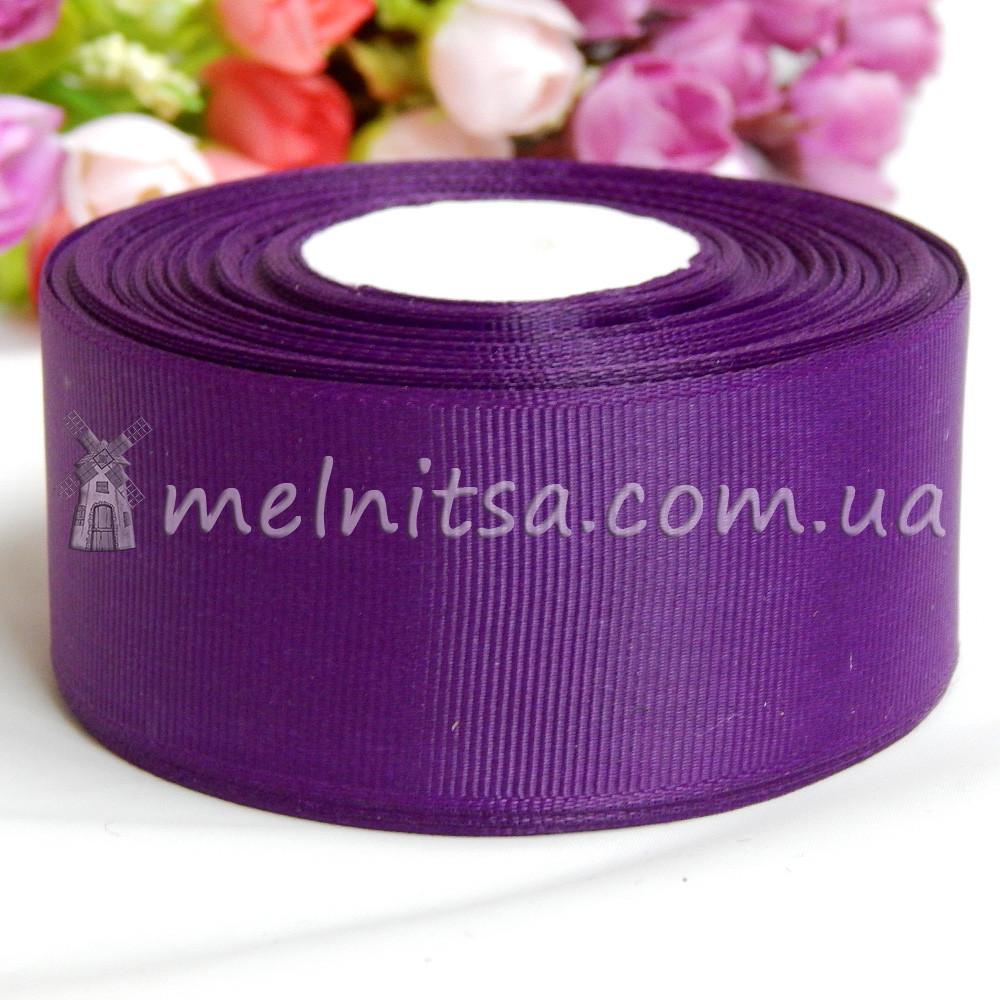 Лента репсовая фиолетовый, 4 см