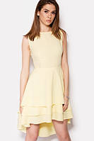 Елегантне жовте вечірнє плаття Azazel Розпродаж (S / 44)