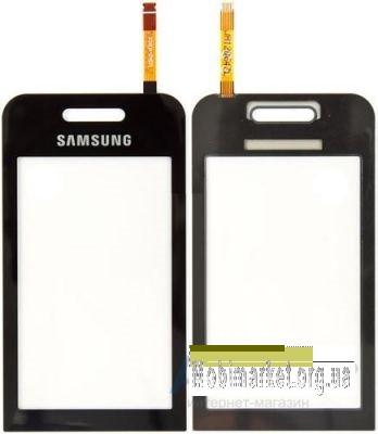 Сенсор (тачскрин) для Samsung S5230 Star, черный