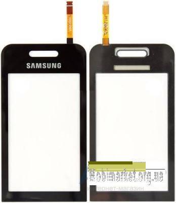 Сенсор (тачскрин) для Samsung S5230 Star, черный, фото 2