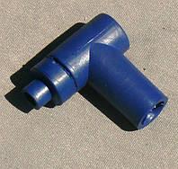 Надсвечник силиконовый 4t  синий