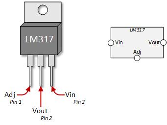 Микросхема LM317 Регулятор Напряжения AC 1.2 В до 37 В 1.5A TO-220 линейный стабилизатор