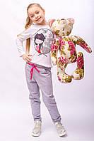 Трикотажные штаны для девочек