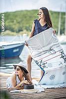 Женская летняя сумка-коврик