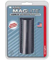 Кожаный чехол для фонарика Maglite, черный, AM2A026R