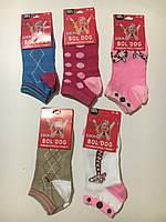 Детские короткие носки для девочек Bol Dog оптом ,22/26-31/36 pp.