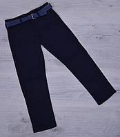 Джинсы школьные подростковые PoloVIP для мальчиков. 11-15 лет. Темно-синие. Школьная форма оптом