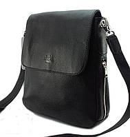 S-9259 DIZAR Сумка кожаная черная