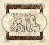 46х50 Керамічна плитка декор панно Emperador Імперадор
