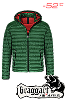 Куртка мужская зимняя до минус 52 зеленая