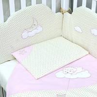 """Комплект сменной постели для новорожденного   """"Sleepyhead"""" Верес™ розовый"""