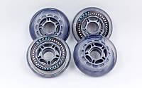 Колеса для роликов Kepai 0800 (роликовых коньков) 72/80мм: 4 штуки в комплекте