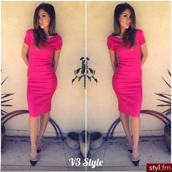 "Платье  ""Dress code"" МИДИ  р.42,44,46, 110 см короткий рукав"