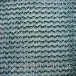 Сітка безпеки затіняюча щільн. 120 г/кв. м., 4.0х50 м, HDPE.green