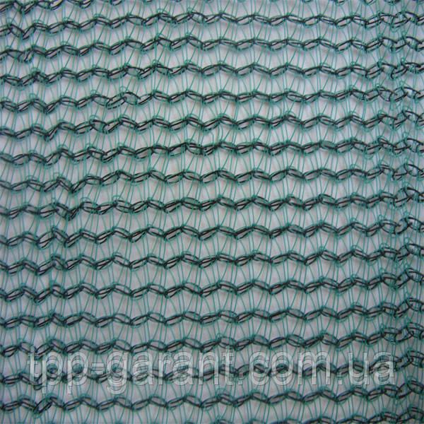 Сітка безпеки затіняюча щільн. 80 г/кв.м., 3.0х50 м, HDPE.green