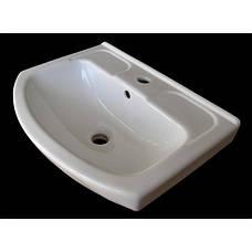 """Тумба под раковину для ванной комнаты Марко 55 Т-1 с умывальником """"Изео"""" Юввис, фото 3"""