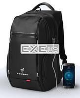 "Рюкзак Segway K9004W-A 15.6"" Black+USB интерфейс (K9004W-A)"