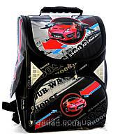 Школьный ранец для мальчика Tiger красное авто