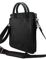 S-9098 DIZAR Портфель кожаный черный