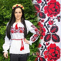 Вышиванка женская вышитая рубашка, фото 1