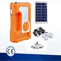 ✅ Фонарь ручной светодиодный Yajia YJ-1905Т, USB, MP3, FM радио, солнечная панель