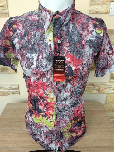 Рубашка короткий рукав Pierre Chapini