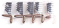 Формы для наращивания ногтей тефлоновые, многоразовые, 5 штук