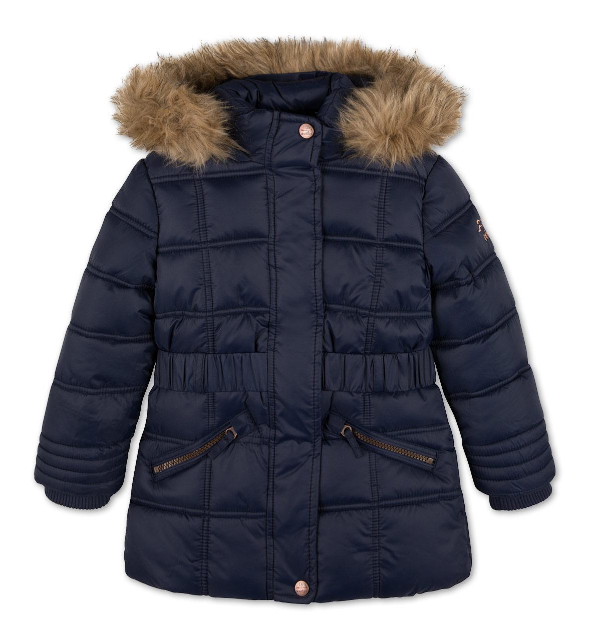 Детская зимняя куртка с капюшоном на девочку C&A Германия Размер 110