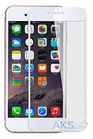 Защитное стекло Apple iPhone 7 Plus|Tempered Glass|Белый|На весь экран|