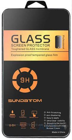 Защитное стекло Samsung C9000 Galaxy C9 Pro Tempered Glass Углы закругленные, фото 2