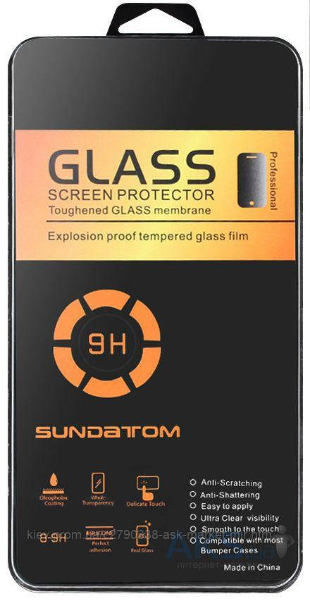 Защитное стекло Samsung C9000 Galaxy C9 Pro Tempered Glass Углы закругленные