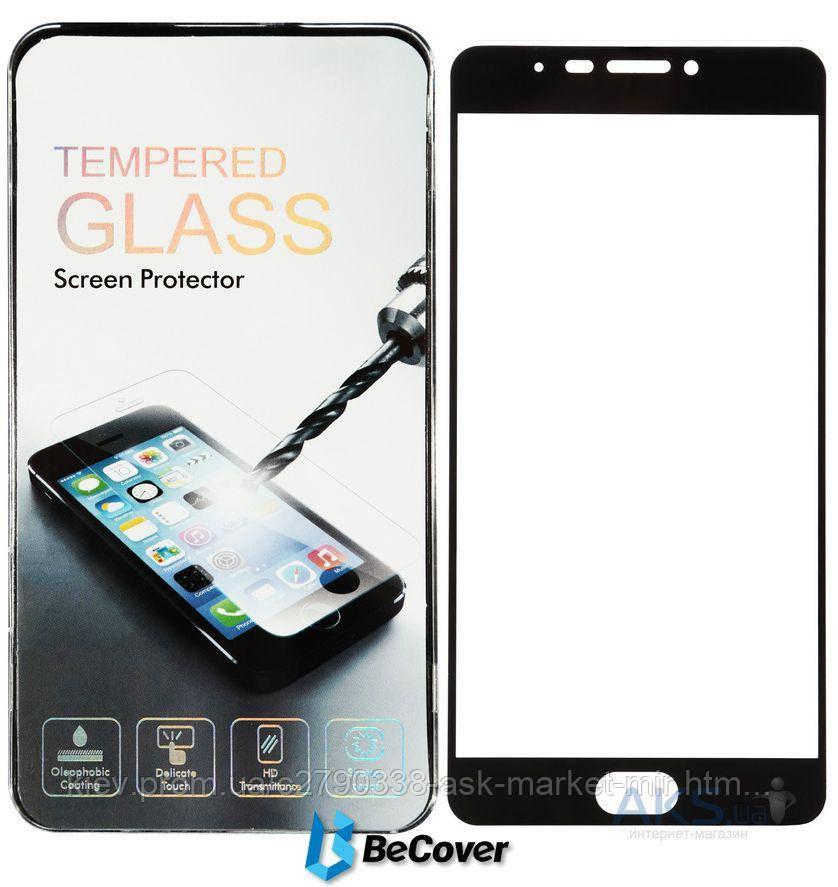 Защитное стекло Meizu M3 Max|BeCover|Черный|На весь экран