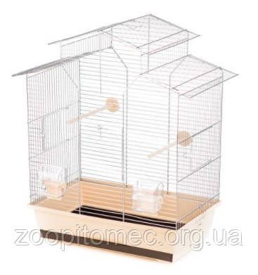 Клетка для птиц IZA 2 Inter ZOO (ИнтерЗоо) хром, 51*30*60,5 см