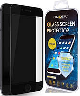 Защитное стекло Apple iPhone 7 Plus, iPhone 8 Plus|Auzer|Черный|